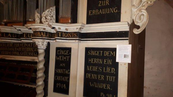 Orgel 1914 Einweihung