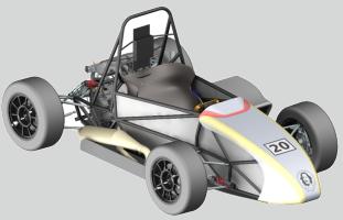Konzept Formelrennwagen 2016