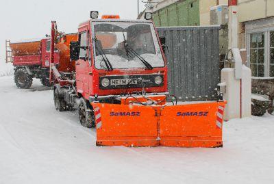 Multicar Winterdienst Gehwege